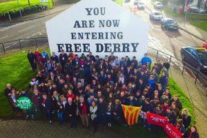 Relazioni Internazionali – Congresso dello #SFRY2017 @Derry – Eire