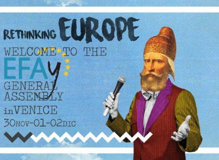 """""""Ripensare l'Europa per i popoli"""" – Scida all'assemblea dell'EFAy a Venezia"""
