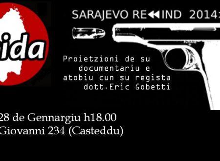"Proietzioni de ""Sarajevo Rewind"""