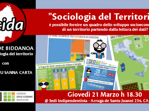Iscola de Biddanoa – Sociologia del territorio con Frantziscu Sanna Carta